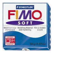 Полимерная глина Fimo Soft 37 небесно-синий 56г