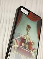 "Пластиковый чехол ""3D Skeleton"" для Apple iPhone 5/5S Чехол для айфона"