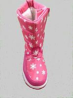 Cапоги зимние для девочки (размер 36)