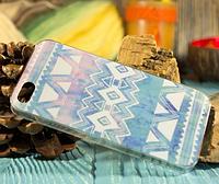 """Пластиковый Чехол """"""""С узорами blurey"""" для Apple iPhone 5/5S Чехол-Накладка на мобильный телефон"""