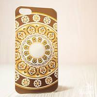 """Пластиковый Чехол """"С узорами braun"""" для Apple iPhone 5/5S Чехол-Накладка на мобильный телефон"""