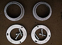 Проставки для увеличения клиренса Toyota Rav 4 передние 2см, задние 3см