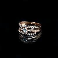 Каблучка золото 585 16 розмір