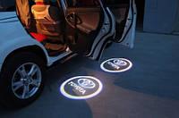 LED Подсветка дверей с логотипом авто. Проектор логотипа под машину.