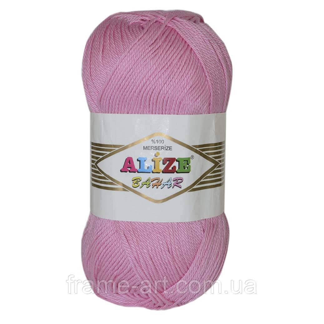 Ализе Бахар 100г/260м 98 розовый