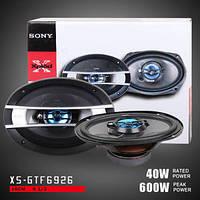 Акустика Sony XS-GTF6926 мощность 600W, автомобильная акустика