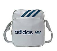 Сумка через плечо Adidas sport style 4144 white (23x20x7 см) купить оптом в Одессе