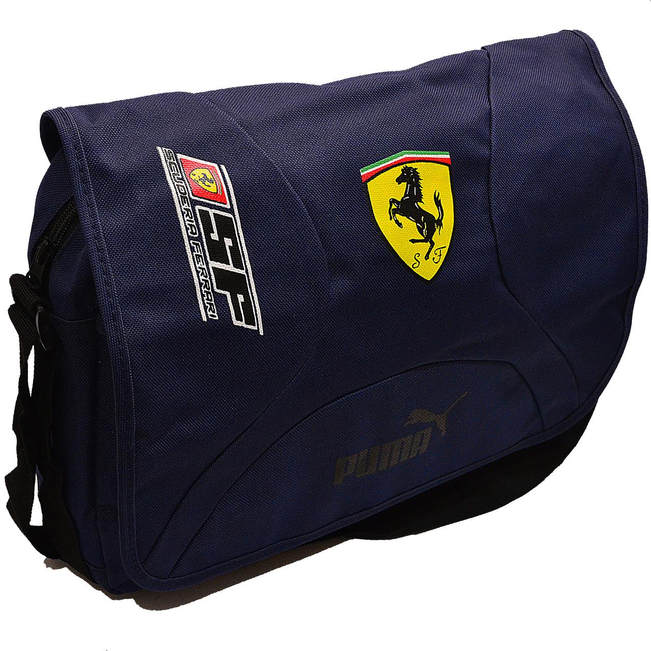 290d34ffe4d0 Сумка через плечо Puma Ferrari 0602 blue купить оптом в Одессе ...