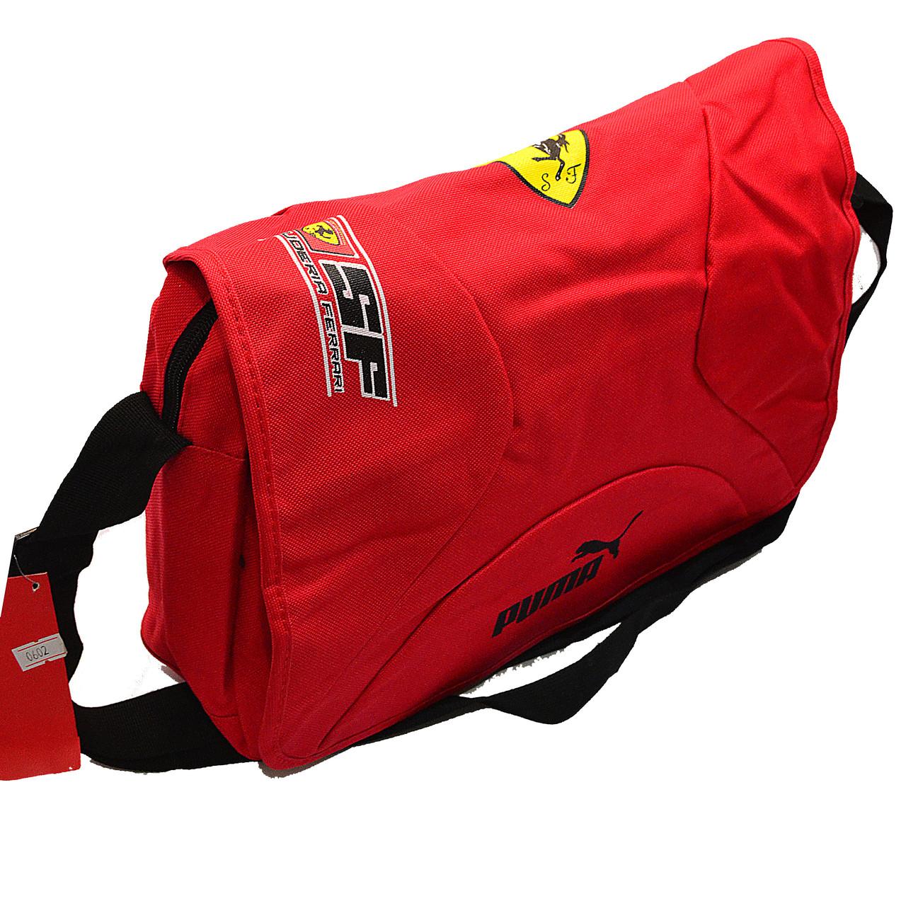 12caeb0c8293 Сумка через плечо Puma Ferrari 0602 red купить оптом по низкой цене - Од  Маркет самые