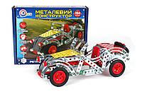 Детский металлический конструктор «Ретро автомобиль ТехноК» 4821 Технок
