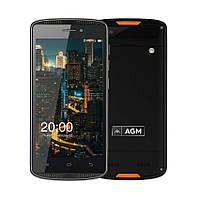Защищенный смартфон AGM X1 Mini Black 2/16gb ip68 4000 мАч Snapdragon 210