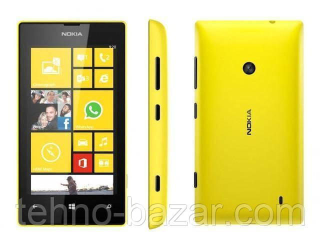 Смартфон Microsoft Lumia 520 Yellow 0,5/8gb 1430 мАч Snapdragon S4