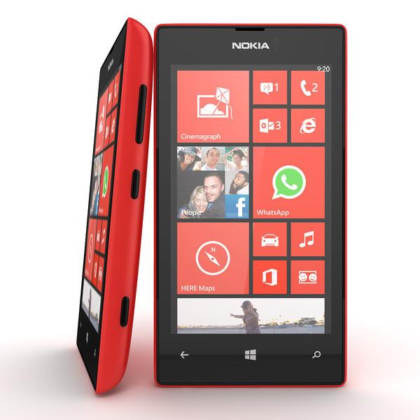 Смартфон Microsoft Lumia 520 Red 0,5/8gb 1430 мАч Snapdragon S4