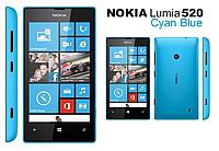 Смартфон Microsoft Lumia 520 Blue 0,5/8gb 1430 мАч Snapdragon S4, фото 2