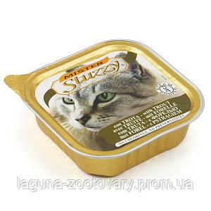 MISTER STUZZY Cat Trout МИСТЕР ШТУЗИ ФОРЕЛЬ корм для кошек, паштет, 100г