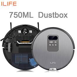 Робот-пылесос Chuwi iLife X750 2600 мАч сухая и влажная уборка + сканирование помещения