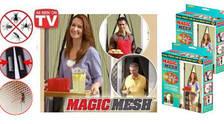 Москитная сетка на магнитах Magic Mesh, Штора на магнитах. Штора от комаров