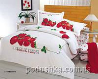 Комплект постели Strawberry, Le Vele Двуспальный евро комплект