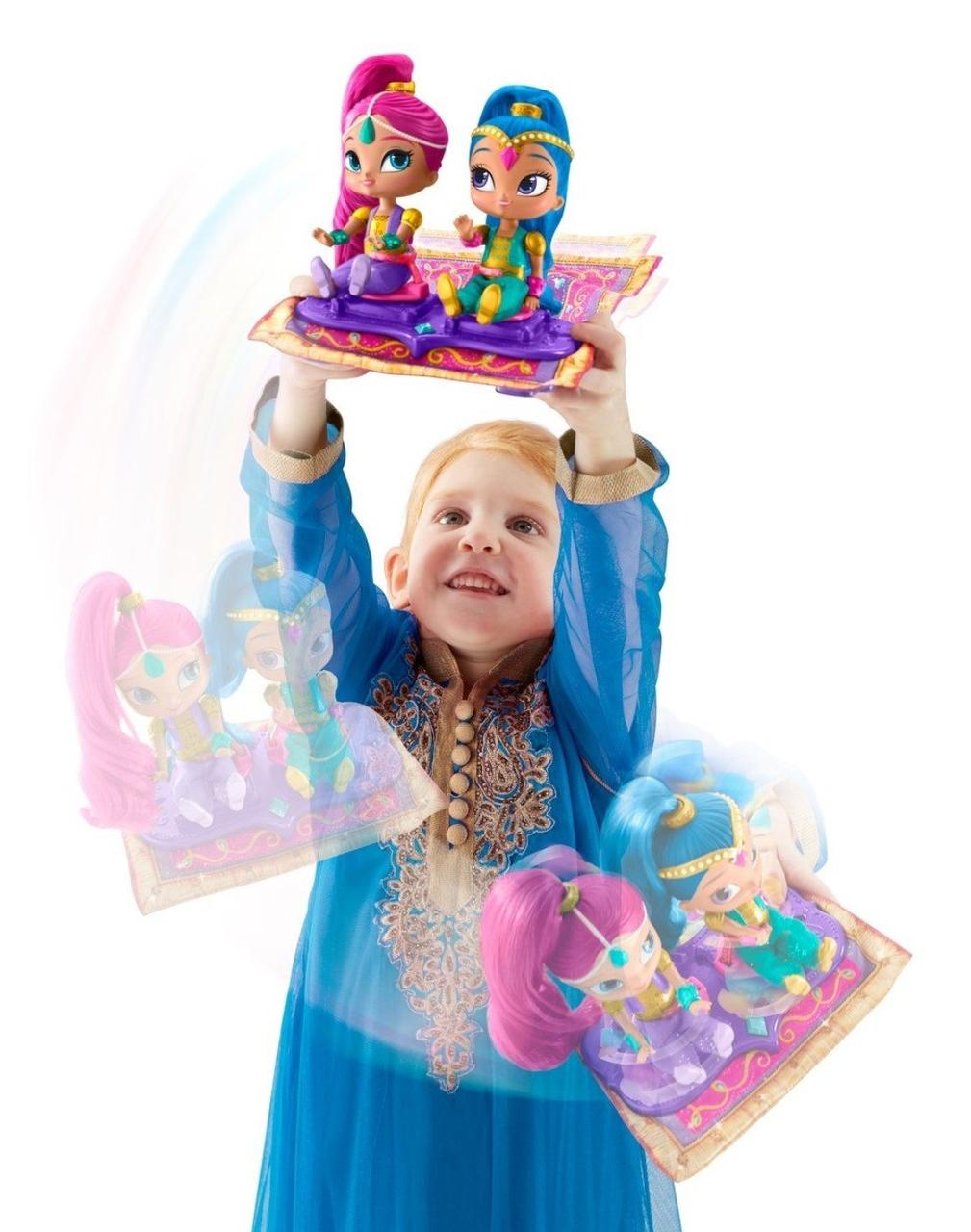 Fisher-Price Шиммер и Шайн Магический Ковер-Самолет Nickelodeon Shimmer & Shine, Magic Flying Carpet