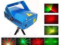 Mini Laser stage lighting SD-09 мини-установка проектор для создания эффектов лазерного шоу