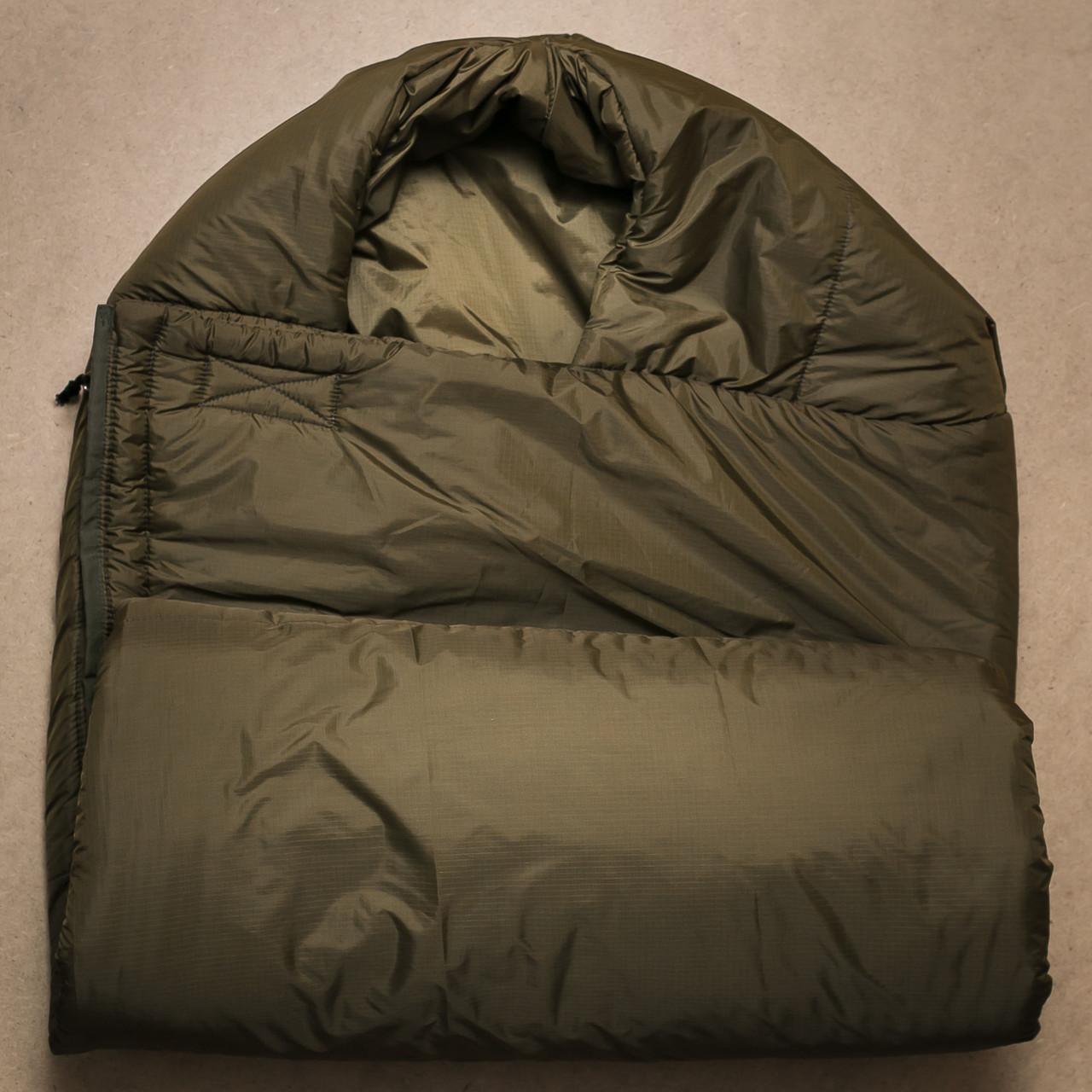 Спальный мешок зимний (кокон)