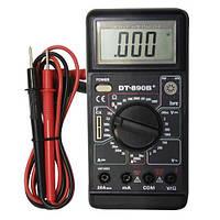 Тестер цифровой  DT-890 B+, мультиметр, защита от перегрузки