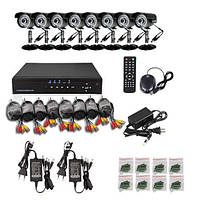 8-канальная система домашнего видеонаблюдения DVR 7108