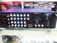 Усилитель звука - микшер K8C, усилитель мощности звука