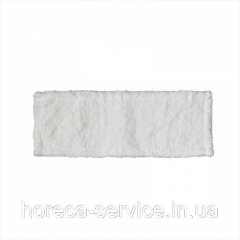 Моп плоский из микрофибры 40х13 для влажной уборки, фото 2
