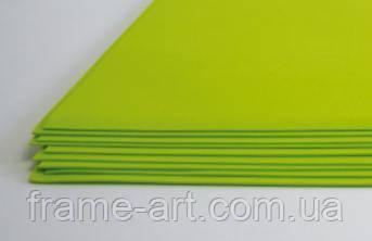 Фоамиран 0,8-1,2мм 15*20см 119 Желто-зеленый