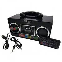 Портативные MP3 колонки USB SD карт FM Star 8962