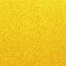 Фоамиран на клейовій основі з глітером 2 мм, 20x30 см, Китай, ЗОЛОТИЙ