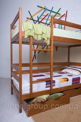 """Ліжко двоярусне Олімп """"Амелі з ящиками"""" (90*190), фото 2"""