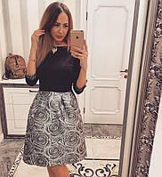 Нарядное женское платье с юбка тюльпан
