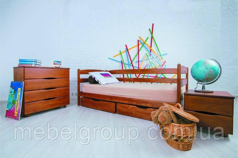 """Ліжко односпальне Олімп """"Маріо з ящиками"""" (90*190)"""