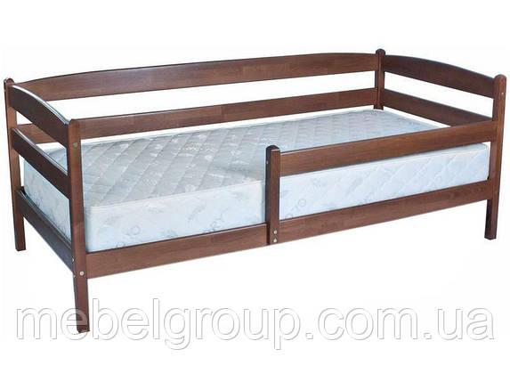 """Ліжко односпальне Олімп """"Маріо з бортиком"""" (70*140), фото 2"""