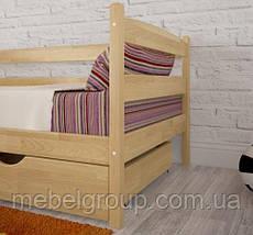 """Кровать односпальная Олимп """"Марио с бортиком и ящиками"""" (80*200), фото 2"""