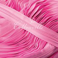 Молния спиральная прочная #3 розовая