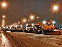 Услуги по обработке антигололедными реагентами песчано солевой смесью автодорог улиц промышленных территорий