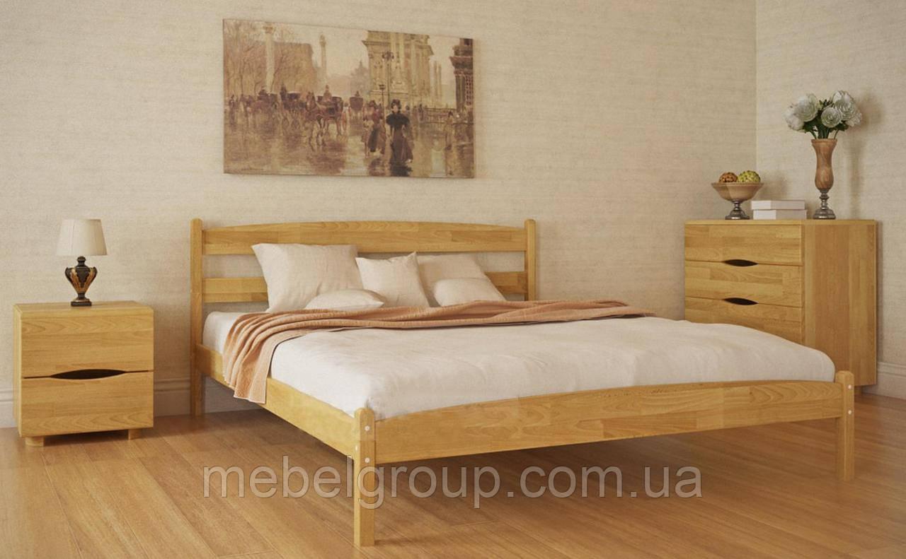 """Ліжко полуторне Олімп """"Ліка без ізножья"""" (120*200)"""