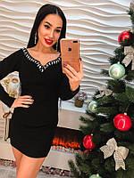 Элегантное и нарядное платье к новому году