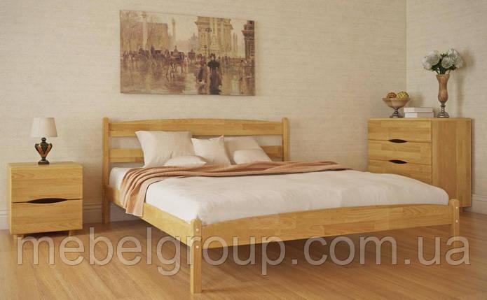 """Кровать двуспальная Олимп """"Лика без изножья"""" (200*200), фото 2"""