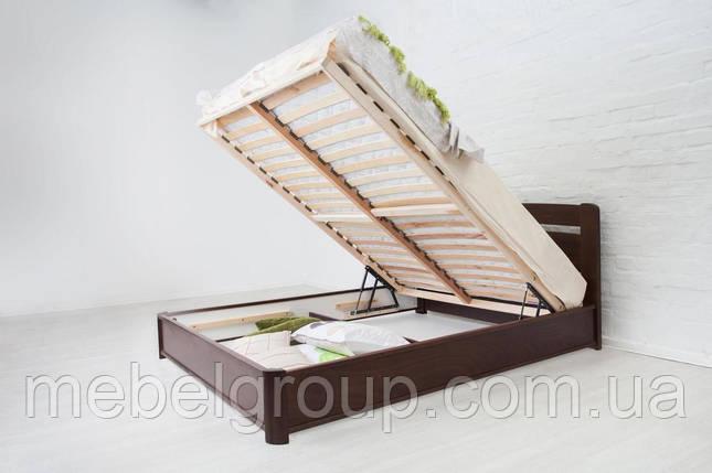 """Ліжко двоспальне Олімп """"Нова з підйомним механізмом"""" (180*200), фото 2"""