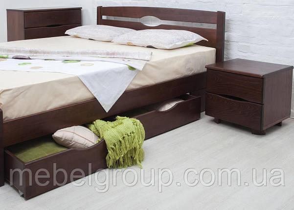 """Ліжко односпальне Олімп """"Нова з ящиками"""" (90*200), фото 2"""
