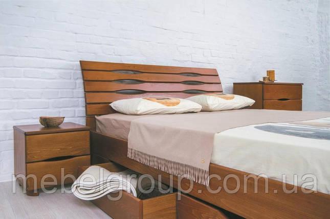 """Кровать двуспальная Олимп """"Марита LUX с ящиками"""" (160*190), фото 2"""