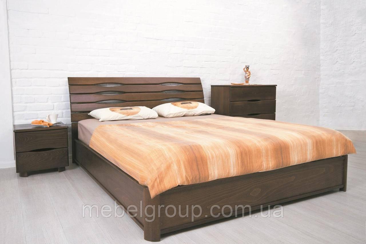 """Ліжко полуторне Олімп """"Маріта N"""" (140*200)"""