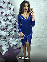 Потрясающее женское платье для новогодней вечеринки S.T Dalila