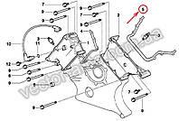 Прокладка передней крышки левая двигателя M62 BMW 11141741128 (OEM BMW)