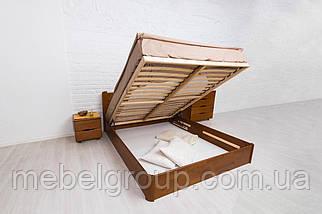 """Ліжко полуторне Олімп """"Софія Люкс з підйомним механізмом"""" (140*200), фото 2"""