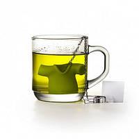 Силиконовый заварник для чая Tea Shirt Qualy (зеленый)